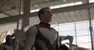 Steve Rogers spacesuit