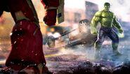 AoU Hulk-Hulkbuster matchup