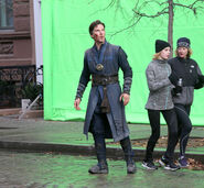 Doctor Strange Filming 75