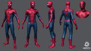 Spider-Man Captain America Civil War Concept Art