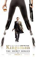 Kingsman Harry Hart poster
