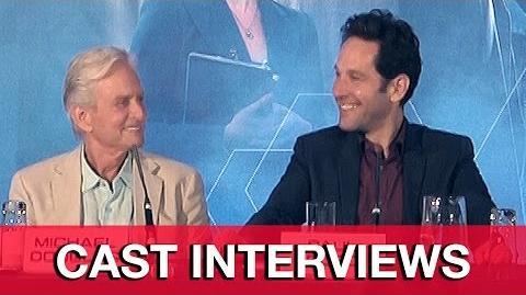 Ant-Man Cast Interviews - Paul Rudd, Michael Douglas, Michael Pena, Peyton Reed