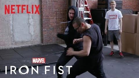 Marvel's Iron Fist Season 2 Building an Epic Fight Sequence Netflix