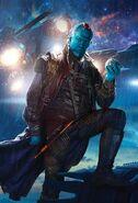 Yondu Textless GOTG Poster