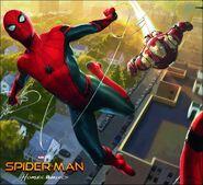 Spiderman homecoming-artof-conceptart