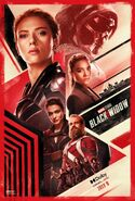 Black Widow Dolby Poster