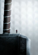 Thor hammer textless