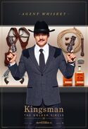 Kingsman The Golden Circle Whiskey character poster 2