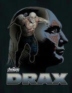 Drax Infinity War Guardian