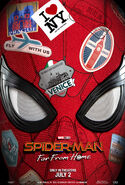 Spider-Man Far From Home teaser poster