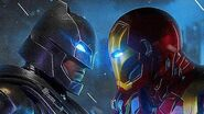 IRON MAN vs BATMAN - Fight Scene