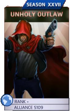 Unholy Outlaw (Season XXVII)
