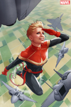 Captain Marvel (Carol Danvers) Cover 50ann