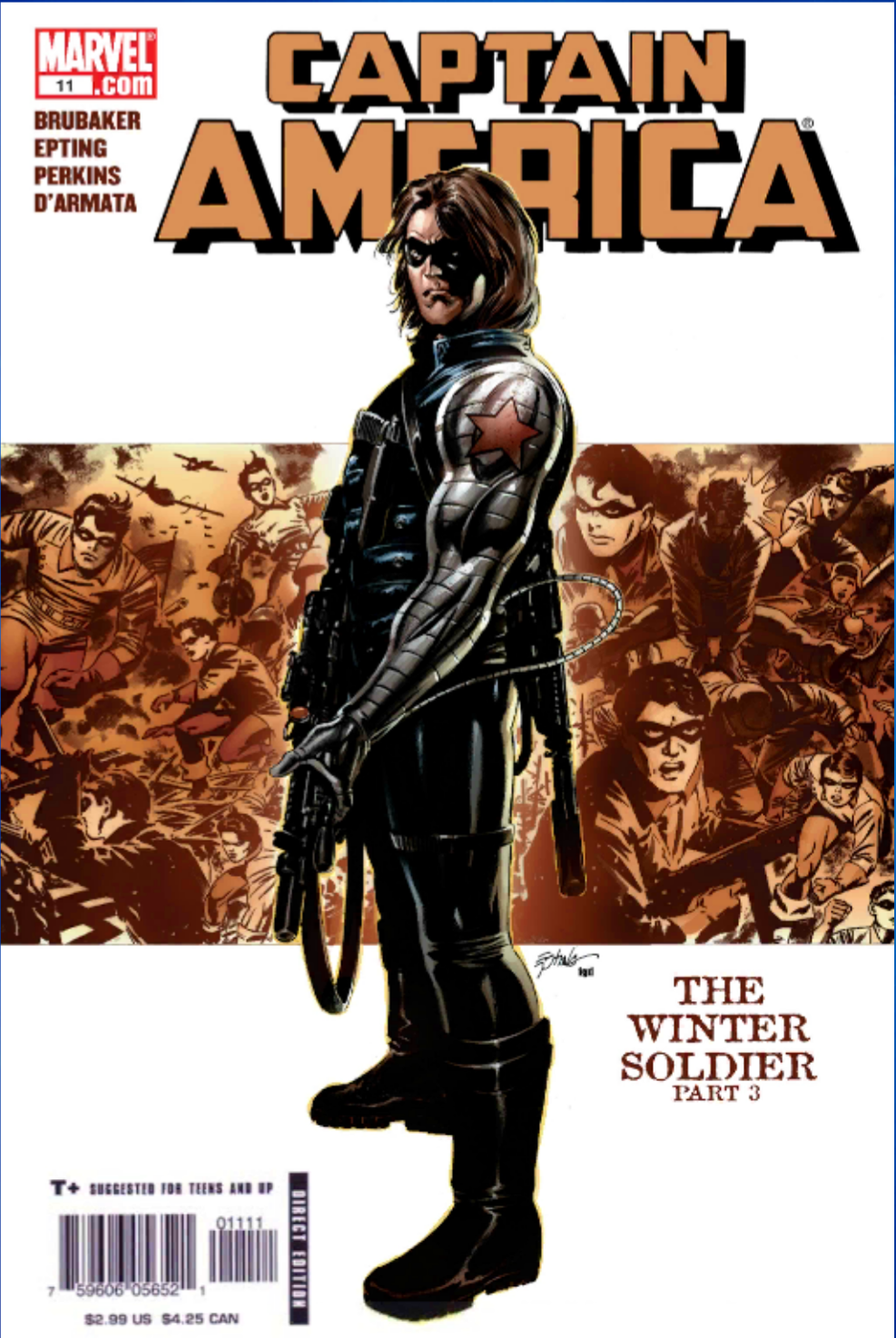 Winter Soldier Bucky Barnes Marvel Puzzle Quest Wiki Fandom