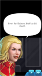 Dialogue Captain Marvel (Modern)