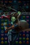 Gamora (Awesome Mix Volume 2) Incapacitate