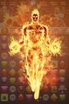 Human Torch (Jim Hammond) Burning Persistence