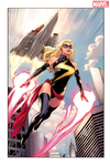 Captain Marvel (Ms. Marvel) Cover 50ann