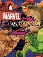 Marvel vs Capcom 2 Game Cover