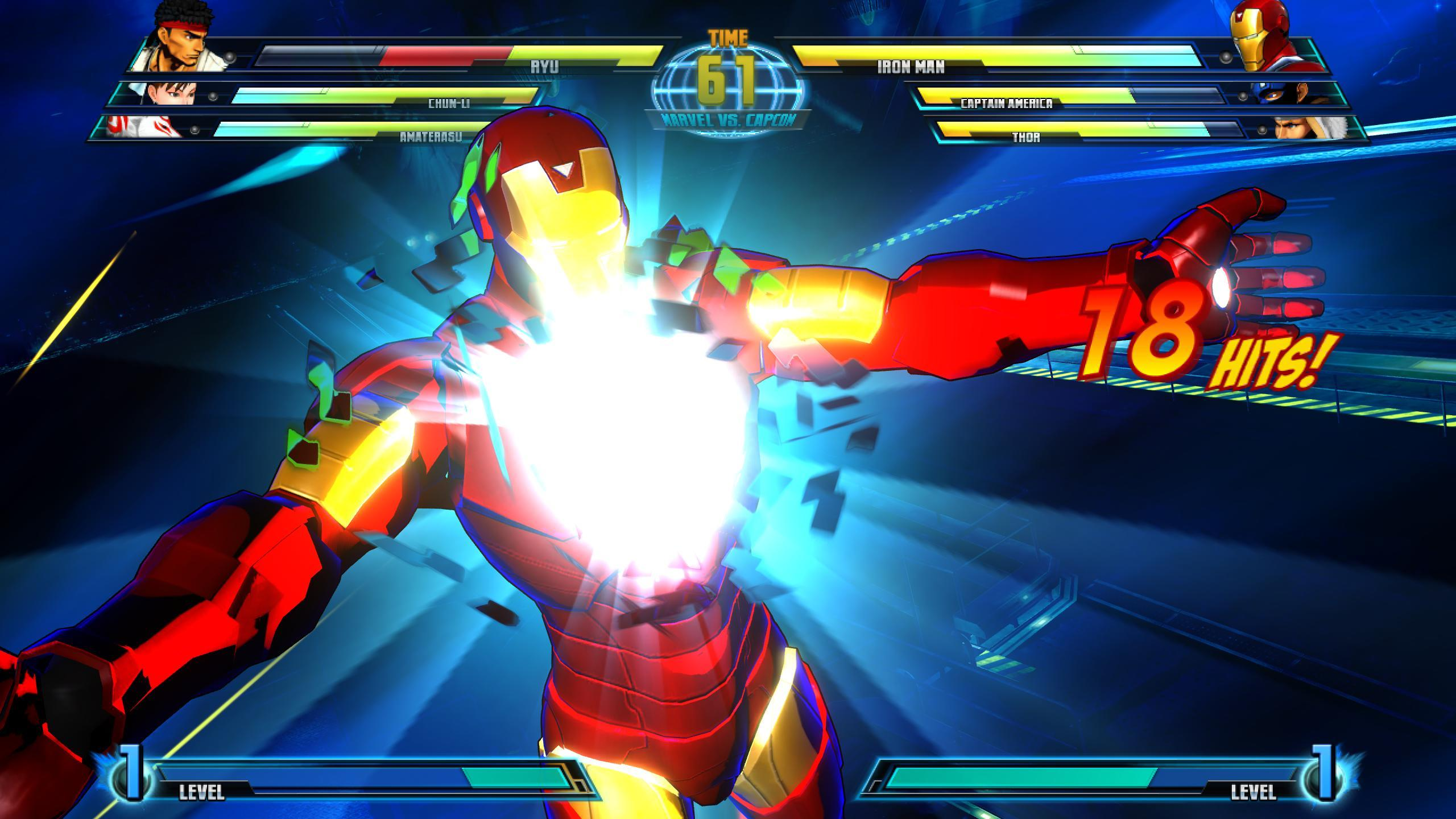 Marvel vs. Capcom 3: Fate of Two Worlds Screenshots
