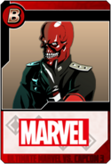 Red Skull - Heroes and Heralds card
