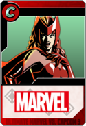 Scarlet Witch - Heroes and Heralds card