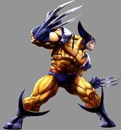 Marvel vs Capcom 2 Wolverine by UdonCrew