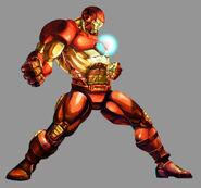 Marvel vs Capcom 2 Iron Man by UdonCrew