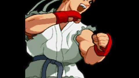 Marvel Super Heroes Vs Street Fighter-Theme of Ryu