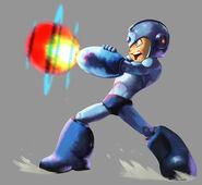 Marvel vs Capcom 2 Mega Man by UdonCrew