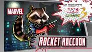Rocket Raccoon Character Vignette - Ultimate Marvel vs
