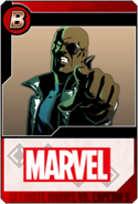 Nick Fury - Heroes and Heralds card