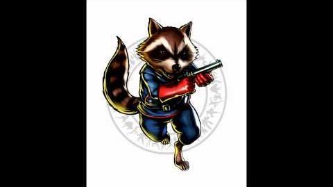 Ultimate Marvel vs Capcom 3 - Theme of Rocket Raccoon