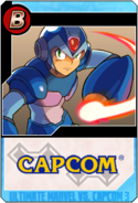 Mega Man X - Heroes and Heralds card
