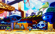 Dr Wily's Military Base