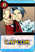 Miles Edgeworth - Heroes and Heralds card