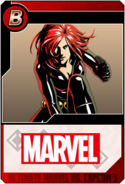 Black Widow - Heroes and Heralds card