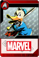 Howard the Duck - Heroes and Heralds card