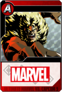 Sabretooth - Heroes and Heralds card