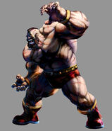 Marvel vs Capcom 2 Zangief by UdonCrew