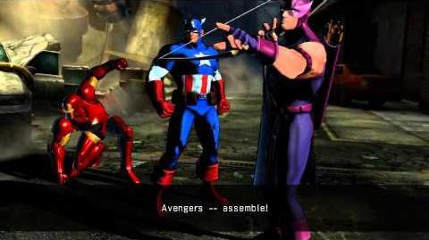UMVC3 Captain America Quotes