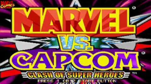 Marvel vs Capcom OST 05 - Captain America's Theme