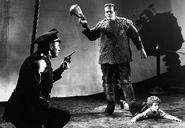 Son-of-frankenstein-ending-scene-krogh-one-armed-man-monster-lionel-atwill-boris-karloff-donnie-dunagan