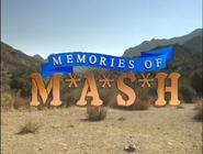 Memories of MASH