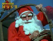 Hawkeye as Santa (Dear Dad)