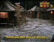 Xmas Snow at 4077th (7-15)