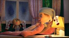 61 Маша и кукла