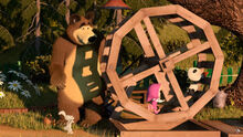 15 Маша Медведь Панда и Зайка