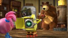60 Медведь Машуко и Робот