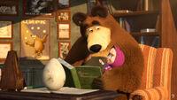 23 Маша Медведь и яйцо